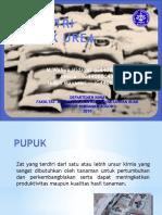 Presentasi Pupuk Urea