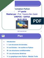 Formation Python 1ère Partie