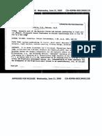 Documenti Declassificati CIA Su Studi Ettore Majorana