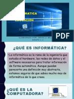 Cuestionario 1 Informática Educativa