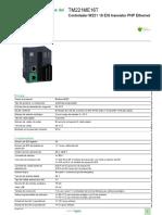 EcoStruxure™ Controlador lógico - Modicon M221_TM221ME16T