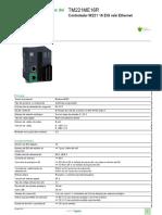 EcoStruxure™ Controlador lógico - Modicon M221_TM221ME16R