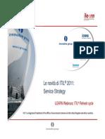 13-01 Le novità di ITIL 2011 - Service Strategy v1.0