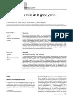 Infecciones por virus de la gripe y virus respiratorios