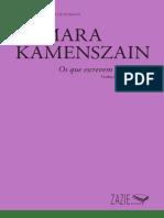 PEQUENA+BIBLIOTECA+DE+ENSAIOS_TAMARA+KAMENSZAIN_OS+QUE+ESCREVEM+COM+POUCO_ZAZIE+EDICOES_2019.pdf