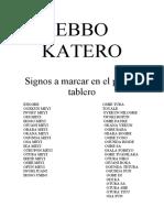 EBBO KATERO
