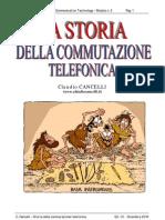 La Storia della Commutazione Telefonica