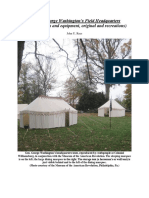 General George Washington's Field Headquarters (Images of tents and equipment, original and recreations)