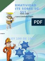presentación sobre NORMATIVAS VIGENTES SOBRE SG-SST.pptx