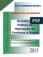 Estudo de Falhas na Operação de Turbinas a Vapor