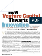 How VC Thwarts Innovation