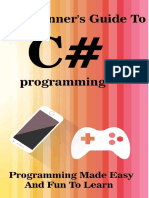 Best new programming book learn C Sharp programming in visual studio 2016.pdf