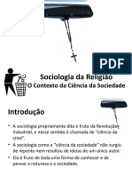 Sociologia da Religião 1