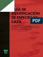 WCS Perú Guía de identificación de especies de caza.pdf