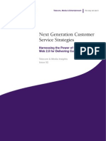 Next Generation Customer Service Strategies