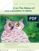 A Report on The Status of Arts Education in Idaho