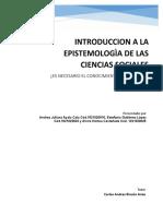 INTRODUCCION A LA EPISTEMOLOGIA 1 ENTREGA