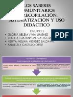 LOS SABERES COMUNITARIOS EQUIPO 2 (1).pdf