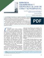 LECTURA CHINA GEOESTRATEGIA