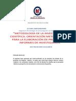 Lectura complemetariaMetodologia de la investigacion cientifica