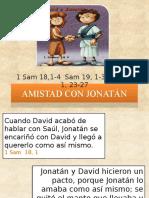 AMISTAD CON JHONATÁN (Bíblico)