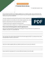 IT-Customer-Service-Survey