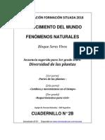 Cuadernillo 2b - Secuencia de 3er                    - Bloque de Seres Vivos  - Plantas 2018
