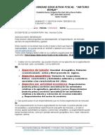 DEBERES   TERCERO   2020  BUENO - copia
