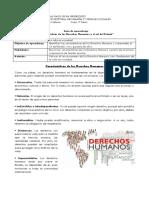 Guía 5to básico DDHH