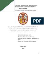 06 ANALISIS DEL MACIZO ROCOSO Y LA APLICACION DE CABLE BOLTING EN LA EJECUCI DE RELL. DETRITICO.pdf