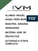 Actividad 5 Administracion de Proyectos