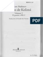 Shalámov, Varlam - Relatos de Kolimá V [El guante o RK-2][escaneo]