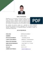 hoja de vida Camilo Marroquin