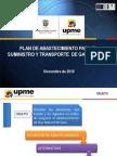 Plan de Abastecimiento Para El Suministro y Transporte de Gas Natural
