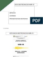 Clase 02 Estudios Geotecnicos 1