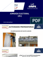 9. Jornada Electoral JEL