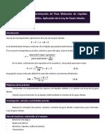 Determinación de peso molecular de líquidos volátiles (1)