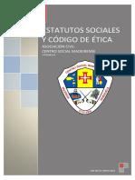 ESTATUTOS SOCIALES Y CÓDIGO DE ÉTICA CENTRO SOCIAL MADEIRENSE