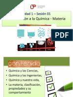 PPT_Sem 1_Ses 1_Introducción a la Química. Materia.