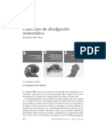 Colección de divulgación matemática