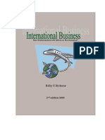 INTERNATIONAL BUSINESS  An introduction from an African perspective