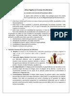 Descripción de aspectos éticos-legales en el campo de adicciones
