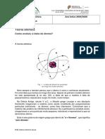 Evolução do conhecimento do atomo