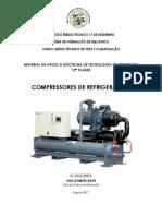 Material de Apoio Compressores de Refrigeração Prof. Van Raph