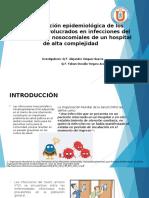 Caracterización epidemiológica de los patógenos involucrados en infecciones presentacion HOSPITAL.pptx