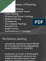 Development of Painting