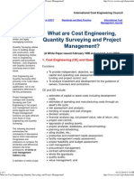 What Are Cost Engineering, ..