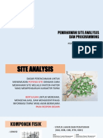 ANALYSIS SITE AND PROGRAMMING BY AGHNIA ROSNA.pptx
