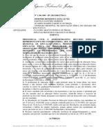 STJ - LICENCIATURA X BACHARELADO