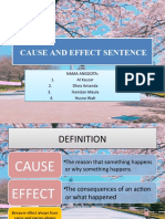 CAUSE AND EFFECT SENTENCE.pptx